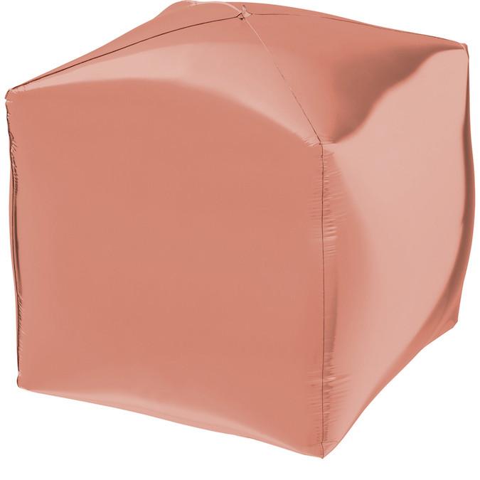 """Куб 24"""" КИТАЙ-КТ Металлик розовое золото"""
