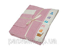 Набір для сауни жіночий Gursan, рожевий, 3 предмета