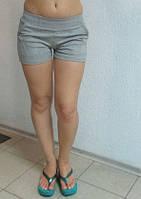 Женские шорты ADIDAS (8209) серые код 017 Б