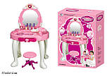 Детское туалетный столик трюмо с зеркалом и стулом игровой, фото 2