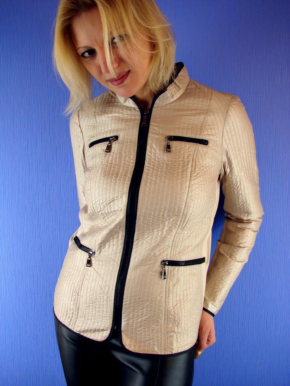 4e84a7eb0d6 Женская куртка весенняя.Olmar 07. Разм. 46-58 Deify