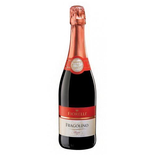 Шампанське (вино) Фраголіно Фіорелло Fragolino Fiorelli червоне (суничне) 750 мл Італія ( 6 шт/1 ящ)