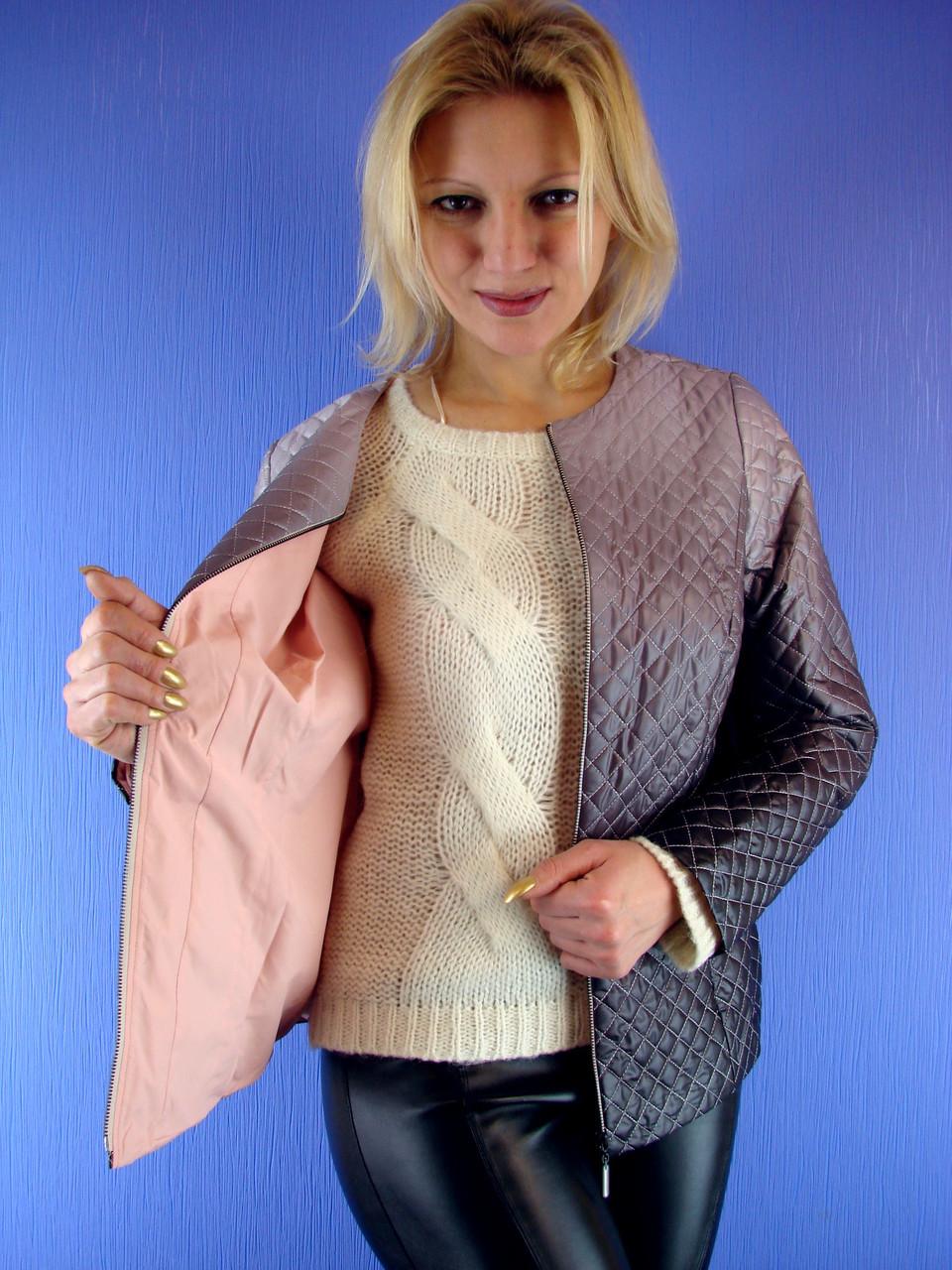 adbe8fa3bb4 Женская куртка весенняя. Olmar 09 Размер 46-58 (DEIFY