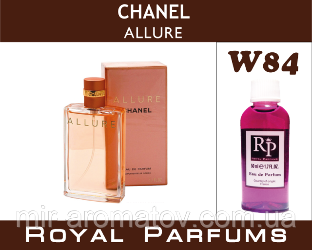 Жіночі парфуми на розлив Royal Parfums «Allure» №84
