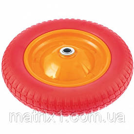 Колесо поліуретанове 3.00-8, довжина осі 90мм, підшипник 20мм Palisad