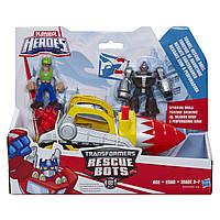 Игровой набор Подземный бур Боты-спасатели. Playskool Heroes Transformers Rescue Bots Tunnel Rescue Drill Set, фото 1