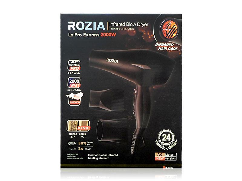 Фен для волос Rozia 2000Вт 12шт 8507