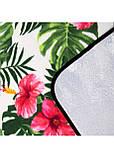 Килимок плед для пікніка відпочинку та кемпінгу сумка складний непромокаючий Springos Зелений 200 x 200 см (PM019), фото 7