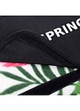 Килимок плед для пікніка відпочинку та кемпінгу сумка складний непромокаючий Springos Зелений 200 x 200 см (PM019), фото 8
