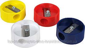 Чинка пластикова KUM, кругла (24шт/уп)