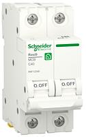 Автоматичний вимикач R9F12240 2P 40A C Resi9 Schneider Electric