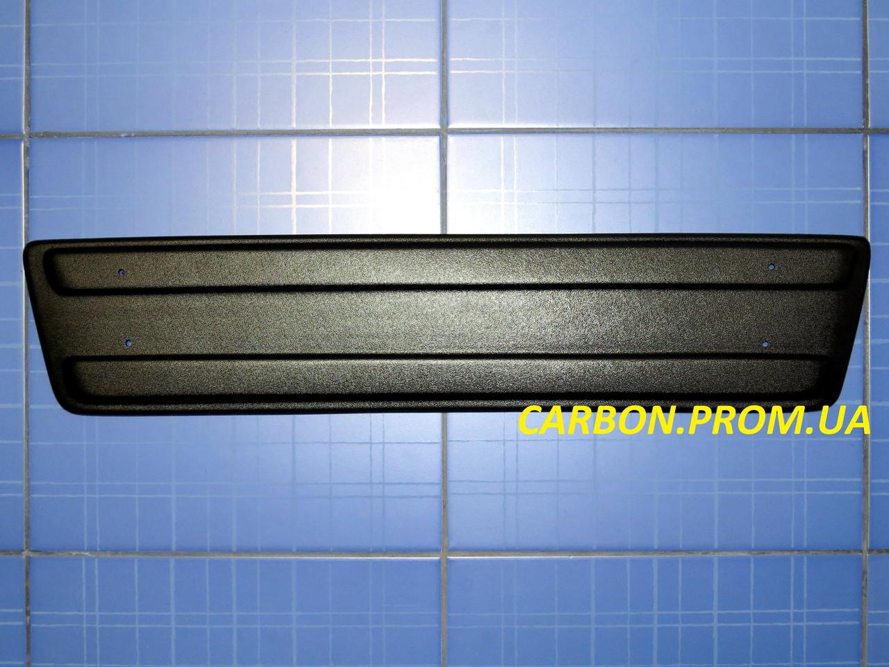 Зимняя заглушка решётки радиатора Рено Трафик Опель Виваро низ 2001-2006 матовая Fly.Утеплитель Renault Trafic