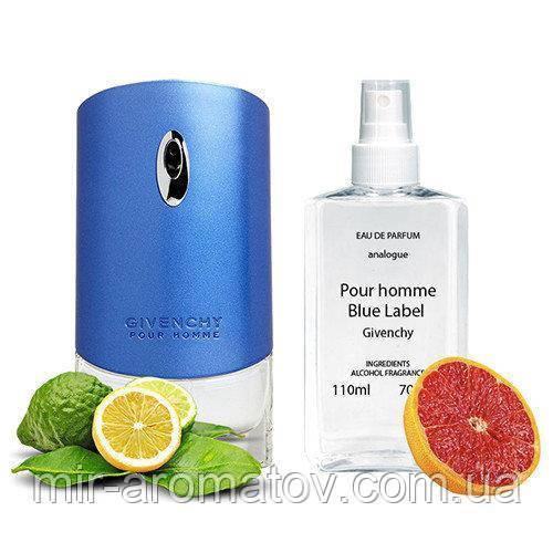 №89 Чоловічі парфуми на розлив «Blue Label» від Givenchy.