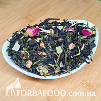 Чай зелений з чорним ароматизований 1001 ніч, 100 г