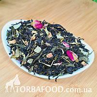 Чай зелений з чорним ароматизований 1001 ніч, 1 кг