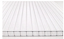 Сотовый поликарбонат ТМ Oscar Premium 4мм прозрачный 2100х6000мм