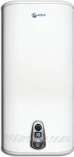Бойлер Roda Aqua Inox 50 VM (плоский, вертикальний матовий)