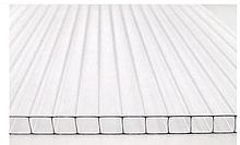 """Стільниковий полікарбонат ТМ """" Oscar Premium 6мм прозорий 2100х6000мм"""