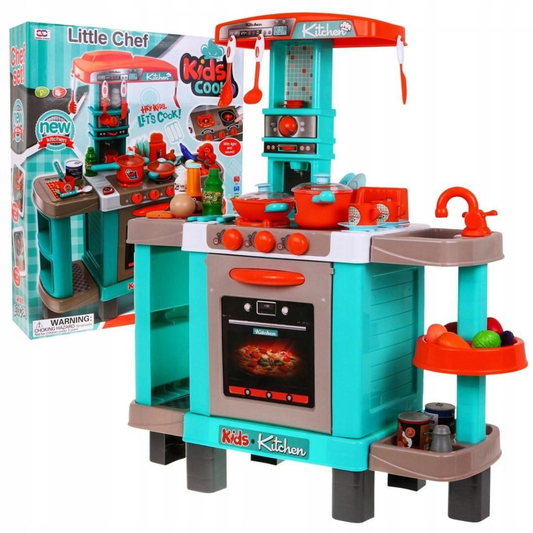 Большая детская кухня Kids Chef с аксессуарами 008-938А