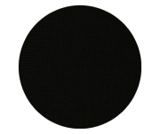 Ткань равномерного переплетения 27 ct. Linda Schulertuch 1235/720 (черный) Black Zweigart 50*70см