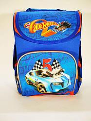 Школьный каркасный ортопедический рюкзак ранец портфель для мальчиков 1 2 3 4 5 класса hot wheels