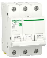 Автоматичний вимикач R9F12310 3P 10A C Resi9 Schneider Electric