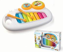 Ксилофон дитячий, музичний з ручкою, Cotoons, від 1 року, Дитячий ксилофон