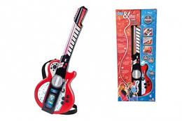 Дитяча іграшка гітара, з роз'ємом для MP3-плеєра, 8 муз. ефектів, 66 см, Simba