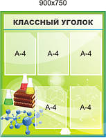 Классный уголок Химия