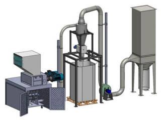 Линия для переработки COMBI 40/80S - GR 500