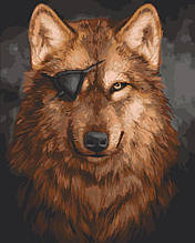 Картина по номерам  Вервольф 40х50 см 11645-AC Art Craft