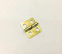 Петля для шкатулок золото 12х13 мм 270º универсальная
