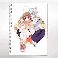 Блокнот СкетчБук аниме Очень Приятно Бог для рисования (sk0056)
