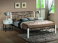 Кровать Parma 160 x 200 Белый + черный
