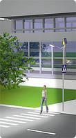 Автономная система освещения пешеходного перехода с датчиком движения, фото 1