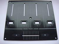 Панелька black под фейдера для Pioneer djm700