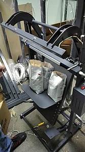 Зварювач єврошов для мішків підлоговий 300 мм 25 кг пакет Ножний для зварювач пакетів, Шов 10, 15, 20 мм