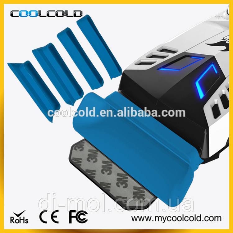 Внешний вентилятор (кулер) для ноутбука CoolCold C3, красный\белый