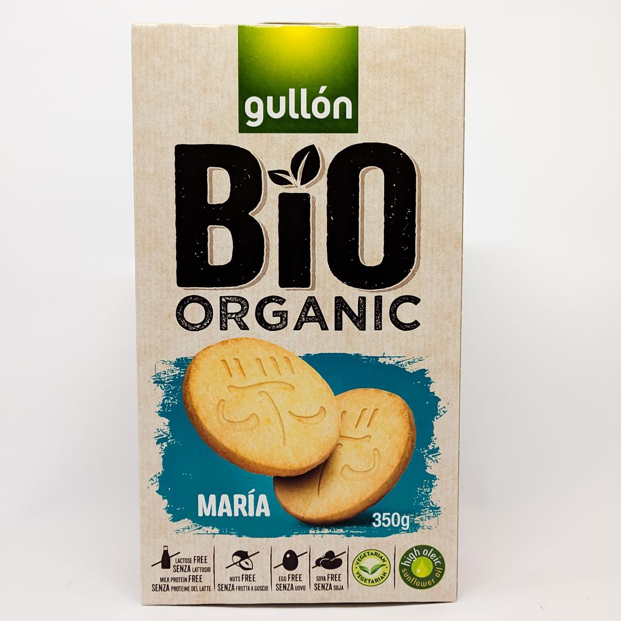 Печенье органическое Gullon Bio Organic Maria 350 gramm