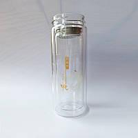 Скляна колба для заварювання чаю інфузер 300 мл, фото 6