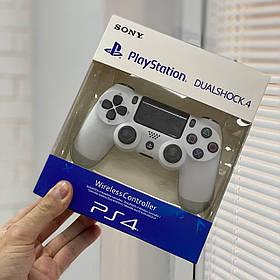 Джойстик Sony PlayStation DualShock 4 беспроводной геймпад Bluetooth Белый