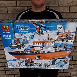 Конструктор Арктический ледокол Bela Urban Arctic 10443 760 деталей