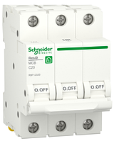 Автоматичний вимикач R9F12320 3P 20A C Resi9 Schneider Electric