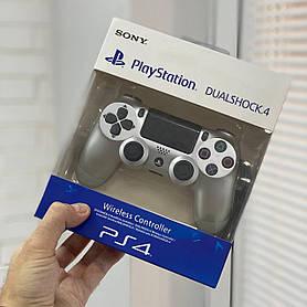 Джойстик Sony PlayStation DualShock 4 беспроводной геймпад Bluetooth Серебряный