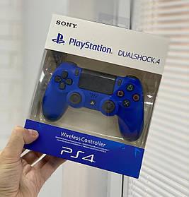 Джойстик Sony PlayStation DualShock 4 беспроводной геймпад Bluetooth Синий
