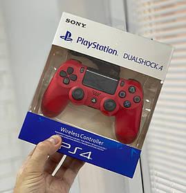 Джойстик Sony PlayStation DualShock 4 беспроводной геймпад Bluetooth Красный