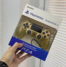 Джойстик Sony PlayStation DualShock 4 беспроводной геймпад Bluetooth Золотой
