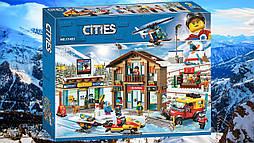 """Конструктор Cities """"Горнолыжный курорт"""" (868 дет.)"""