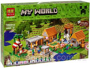 Конструктор Майнкрафт Bela 10531 Деревня Minecraft 1622 детали