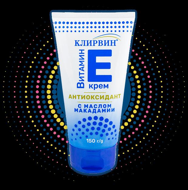 Аюрведический Клирвин Антиоксидантний крем з вітаміном Е і маслом макадамії 150г